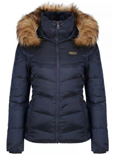 MUSTO Coat - Ladies Burghley Quilted 2 In 1 Jacket - True Navy
