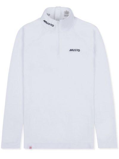 MUSTO Equestrian Shirt - Ladies Performance Long Sleeve Stock Shirt - White
