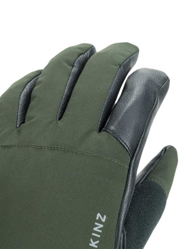 SEALSKINZ Gloves - Waterproof All Weather Hunting - Olive Green & Black