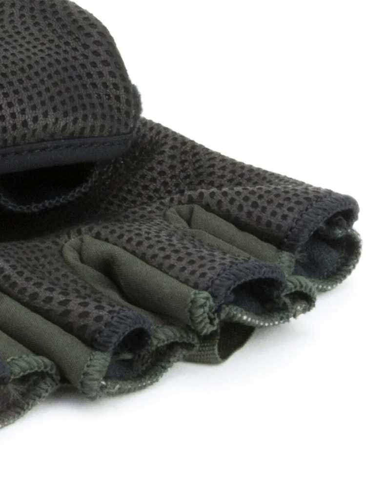 SEALSKINZ Gloves - Windproof Cold Weather Convertible Mitt - Olive Green & Black