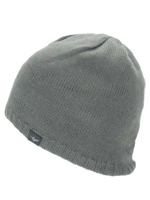 SEALSKINZ Hat - Waterproof Cold Weather Beanie - Grey