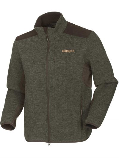 HARKILA Jacket - Mens Metso Active Fleece - Willow Green