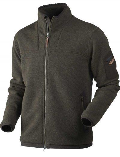 HARKILA Knitwear - Mens Norja HSP Full Zip Cardigan - Warm Olive