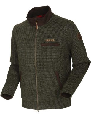 HARKILA Knitwear - Mens Rodmar Cardigan - Willow Green