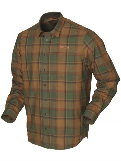 HARKILA Shirts - Mens Metso Active - Spiced Check