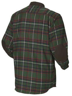HARKILA Shirts - Mens Pajala Brushed Cotton - Green Check