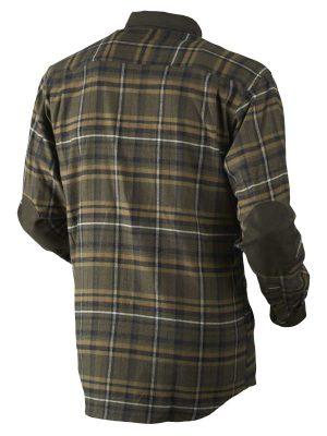 HARKILA Shirts - Mens Pajala Brushed Cotton - Willow Green Check