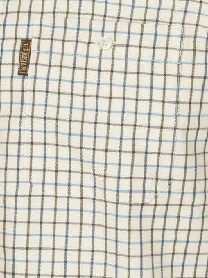 HARKILA Shirts - Mens Stornoway Active - Green / Blue Check