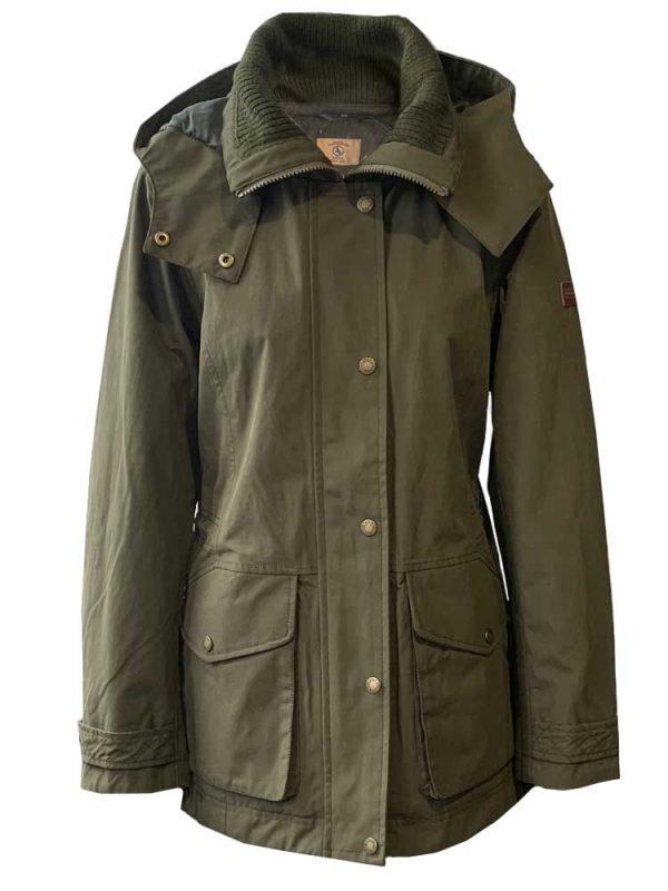AIGLE Jacket - Saguvi Hunting-style Waterproof Parka - Khaki