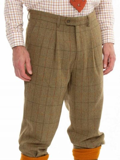 ALAN PAINE Breeks - Mens Combrook Tweed - Elm