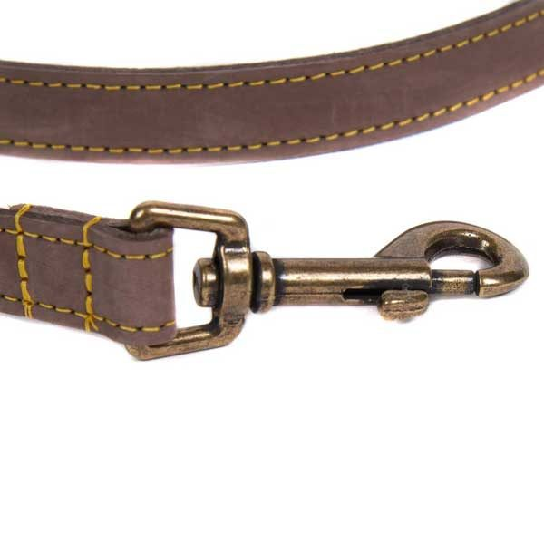 BARBOUR Dog Leather Lead - Brown