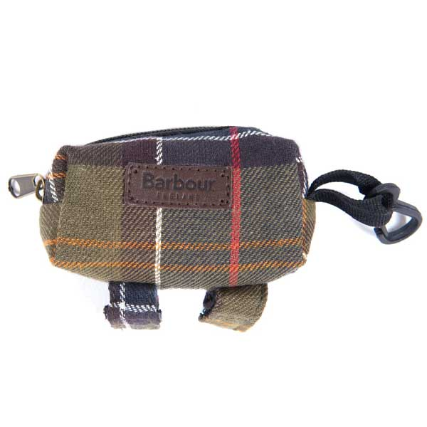 BARBOUR Poop Bag Dispenser - Classic Tartan