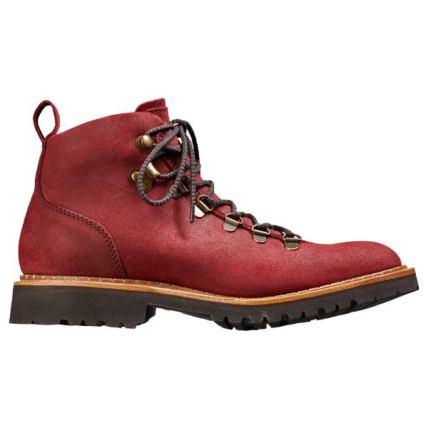 BARKER Julie Boots - Ladies Hiking - Plum Waxy Suede