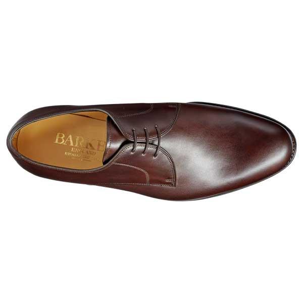 BARKER March Shoes - Mens Derby Style -Dark Walnut Calf