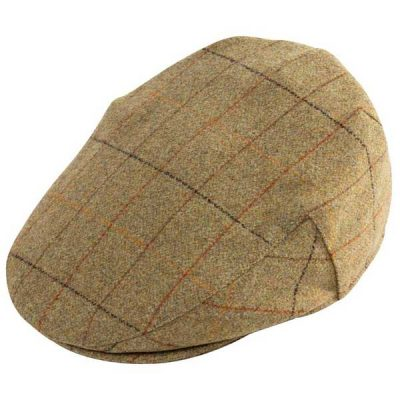 ALAN PAINE Cap – Mens Combrook Tweed - Elm