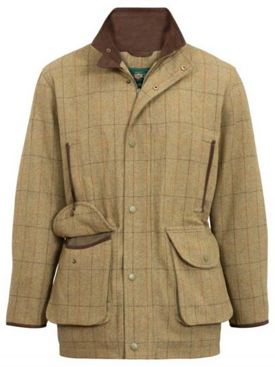 ALAN PAINE Field Coat – Mens Combrook Tweed – Elm