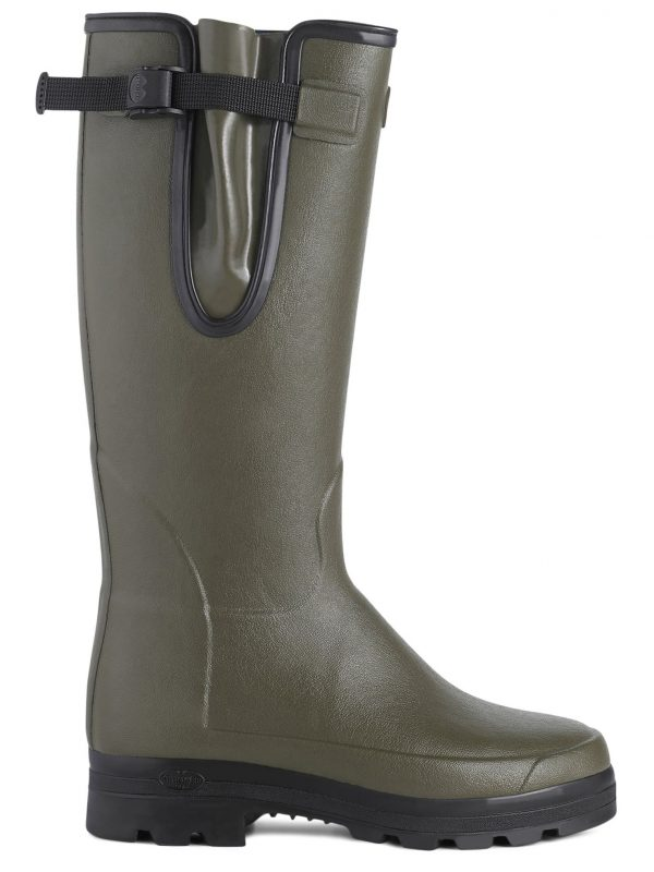 LE CHAMEAU Boots - Mens Vierzonord Neoprene Lined - Vert Chameau
