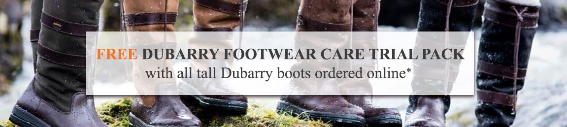 FREE DUBARRY FOOTWEAR CARE TRIAL PACK