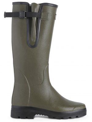 LE CHAMEAU Boots - Mens Vierzon Jersey Lined - Vert Chameau
