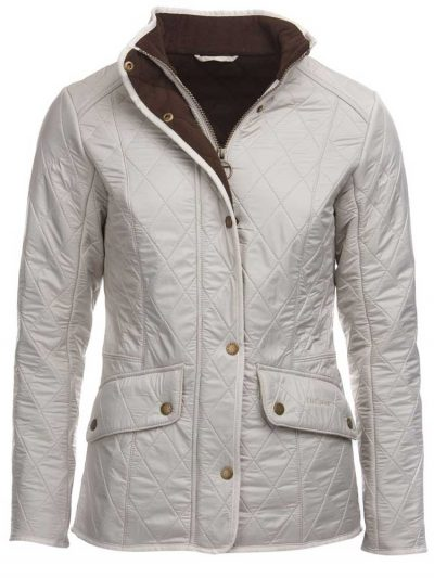 BARBOUR Quilted Jacket - Ladies Cavalry Polarquilt - Pearl