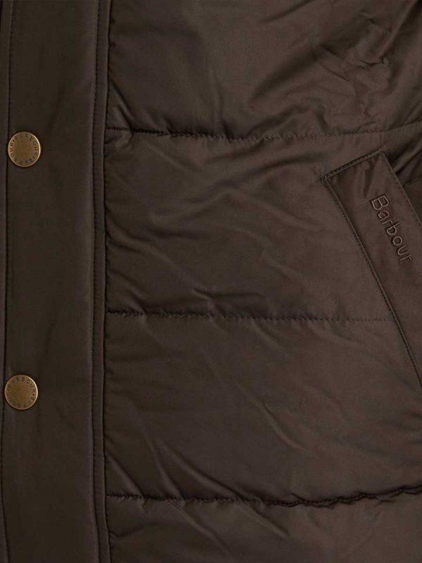 BARBOUR Quilted Jacket - Mens Stevenson - Olive