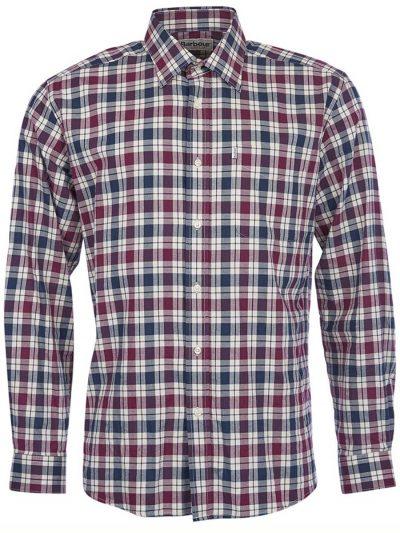 BARBOUR Shirts - Men's Astwell- Regular Fit - Merlot