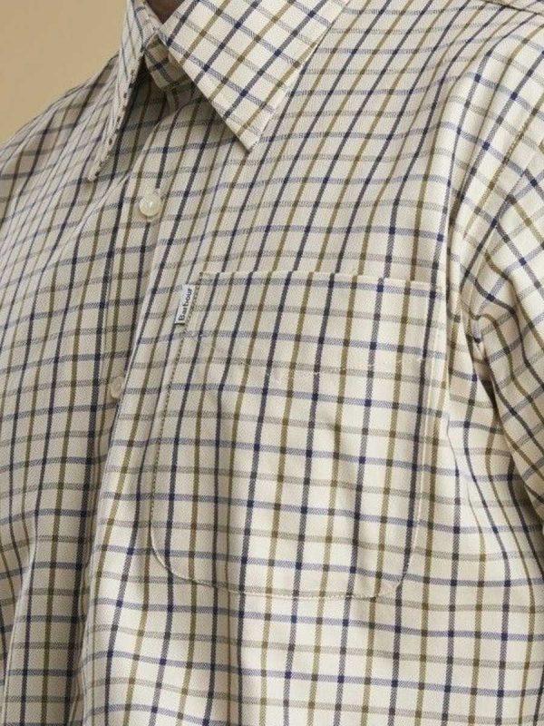BARBOUR Shirts - Men's Maud - Regular Fit - Navy & Blue Check